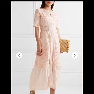 LoveShackFancy Edwardian Della Maxi Dress Sz XS